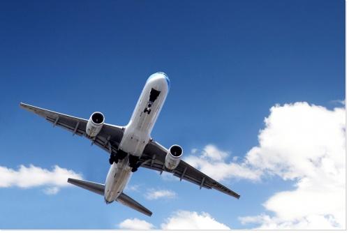 voyage en avion à Lourdes